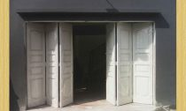 Pintu Garasi Besi, Pintu Besi Geser, Pintu Garasi Sliding, Pintu Wina Menikung, Harga Pintu Wina, Garasi Besi Wina